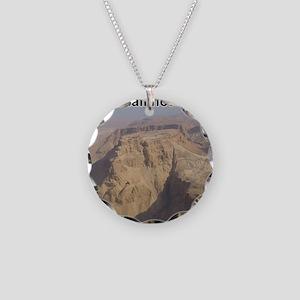 masada Necklace Circle Charm