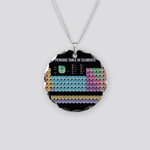 Periodic Table Of Elements Necklace Circle Charm