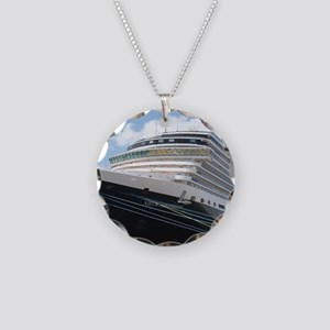 MS Nieuw Amsterdam Necklace Circle Charm
