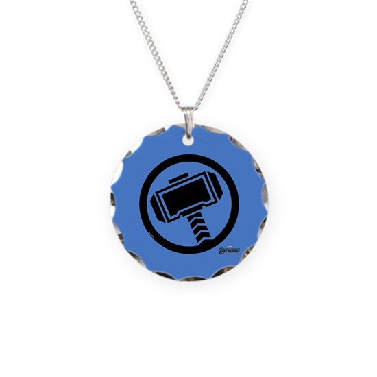 Thor Symbol Necklace Circle Charm