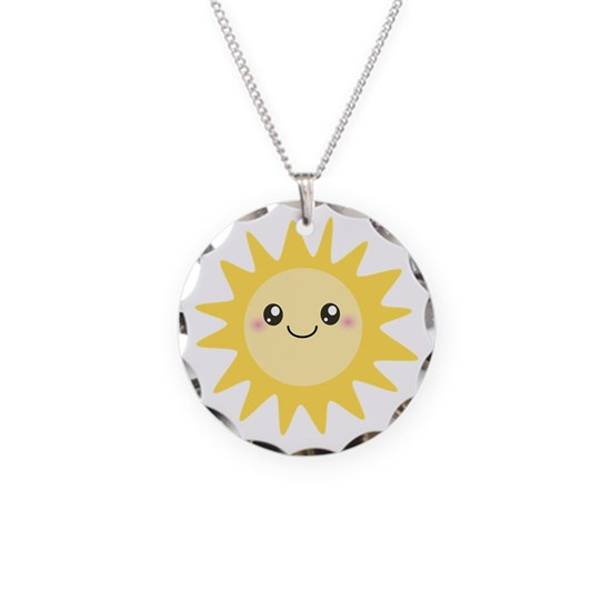 Cute happy sun