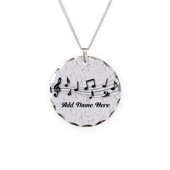 Personalized Musical Notes design