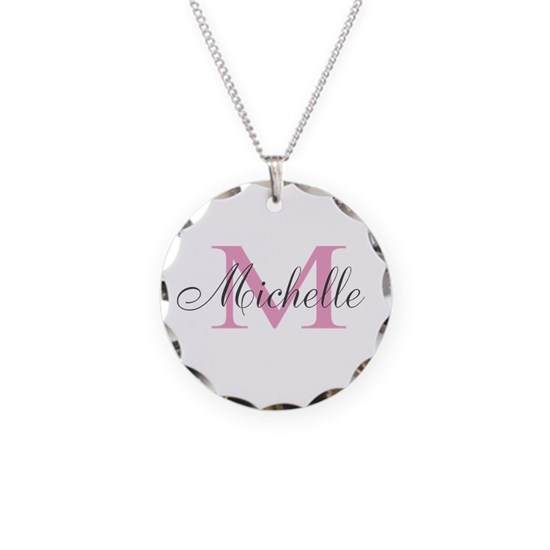 Personalized pink monogram