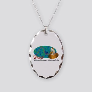 WMAP Necklace Oval Charm