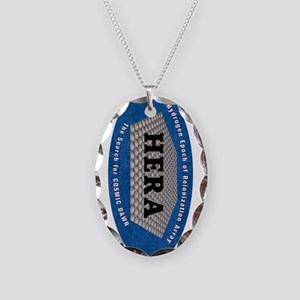 HERA Logo Necklace Oval Charm