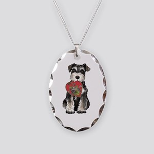 minSch momK Necklace Oval Charm