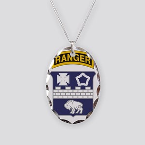 17th Ranger Necklace Oval Charm