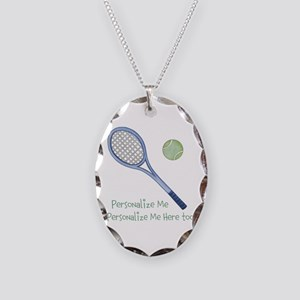 Personalized Tennis Necklace