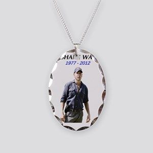shane Necklace Oval Charm