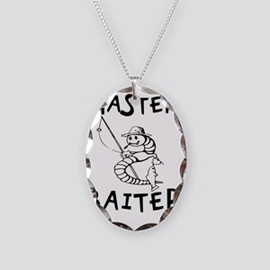 Master Baiter Necklace Oval Charm