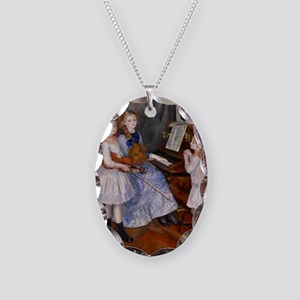 renoir Necklace Oval Charm