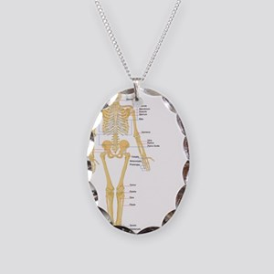 Skeleton chart Necklace