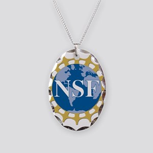 National Science Foundation Cr Necklace Oval Charm