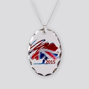 2015 Conservatives Necklace Oval Charm