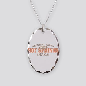 Hot Springs 1 Necklace Oval Charm