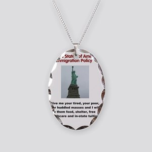 5000x6000_IMMIGRATION POLICY.g Necklace Oval Charm