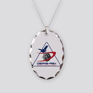 OSIRIS-REx Mission Necklace Oval Charm