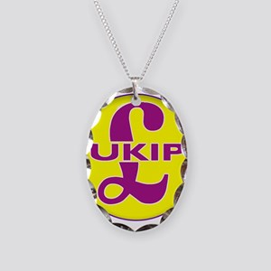 UKIP Necklace Oval Charm