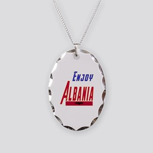 Albania Designs Necklace Oval Charm
