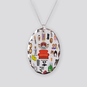 Friends TV Quote Collage Necklace