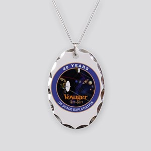 Voyager At 40! Necklace Oval Charm