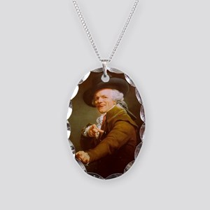Joe_Decreux_Wu_Tang_by_JoelFry Necklace Oval Charm