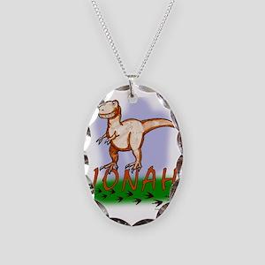 jonah-dino Necklace Oval Charm