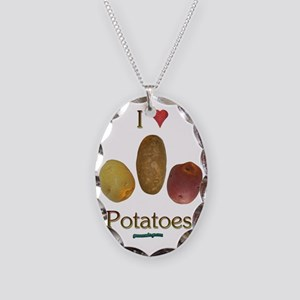 iluv_potatoes Necklace Oval Charm