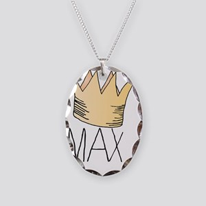 Where the Wild Things Are Necklace Oval Charm