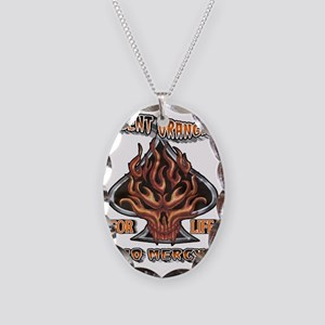 AGENT ORANGE FOR LIFE Necklace Oval Charm