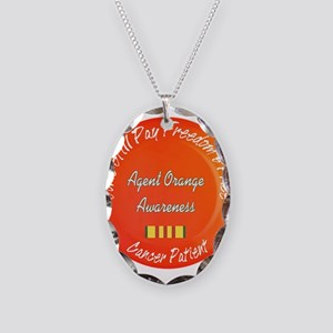 Freedom's Price Necklace Oval Charm