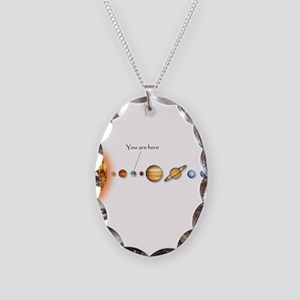 Supplementology Necklace Oval Charm