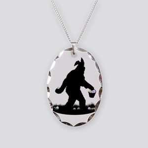 Easter Squatchin Necklace