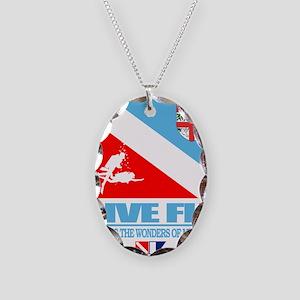 Dive Fiji Necklace Oval Charm