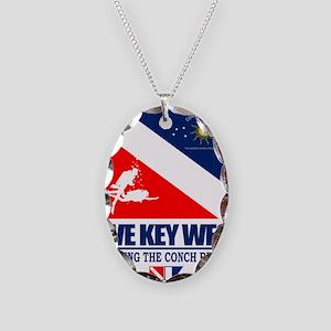 Dive Key West Necklace Oval Charm