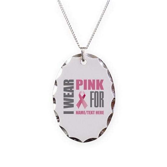 Pink Awareness Ribbon Customized
