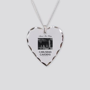 Carlsbad Caverns Americasbest Necklace Heart Charm