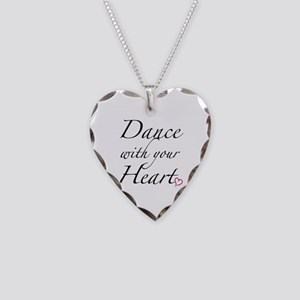 Dance with your Heart Necklace Heart Charm