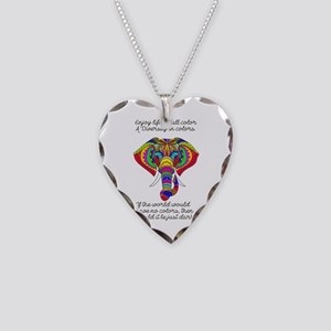 Diversity Necklace Heart Charm