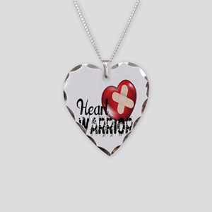heart warrior Necklace Heart Charm