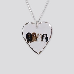 4Cavaliers Necklace Heart Charm