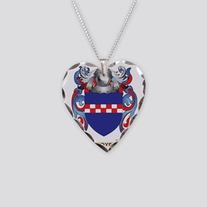 Boyd Coat of Arms Necklace Heart Charm