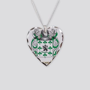 Gallagher Coat of Arms (Famil Necklace Heart Charm