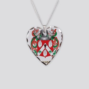Cullen Coat of Arms Necklace Heart Charm