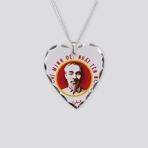 Ho Chi Minh Necklace Heart Charm