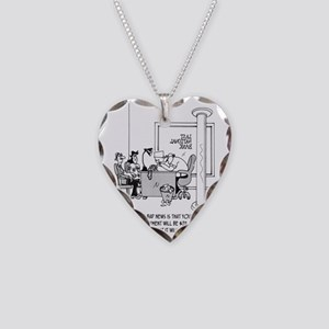 6120_mortgage_cartoon Necklace Heart Charm