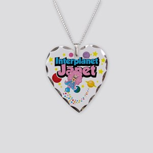 Interplanet-Janet Necklace Heart Charm