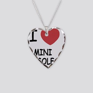 MINIGOLF Necklace Heart Charm