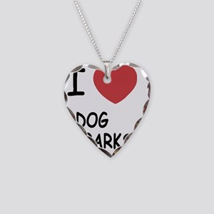 DOG_PARKS Necklace Heart Charm