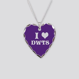 I Heart Dwts Necklace Heart Charm